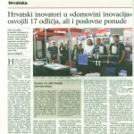 Vjesnik, daily newspapers