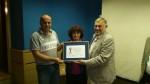 primanje nagrade za najbolju inovaciju u 2011 g.
